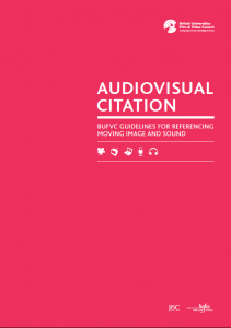 Audiovisual citation cover