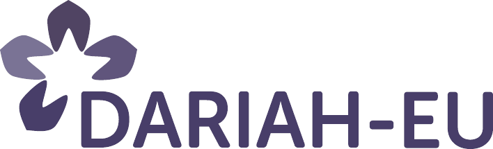 Digital Research Infrastructure for the Arts and Humanities (DARIAH) logo